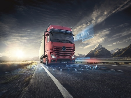 Mercedes-Benz Trucks Italia al Transpotec 2019