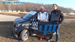 SMART EQ RALLY CROSS Quando correre costa poco e non inquina